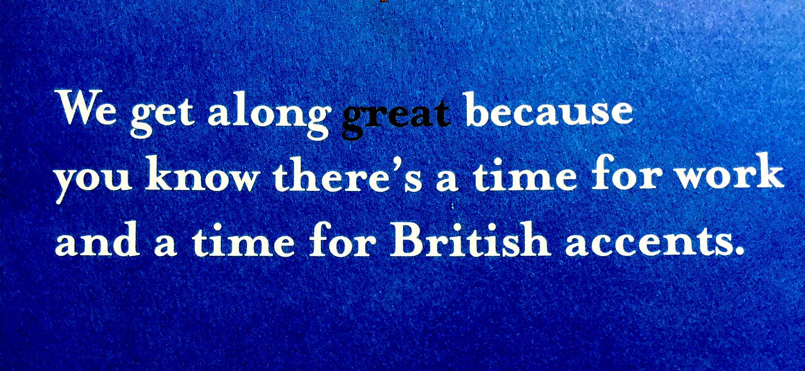 british accents